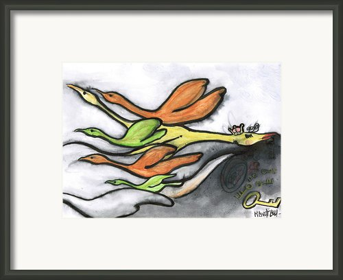 Lost Framed Print By Kendrew Black