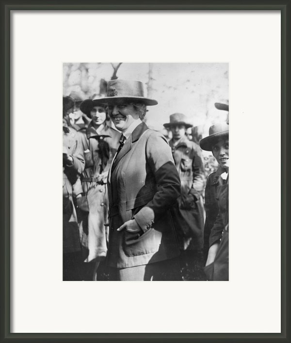 Lou Henry Hoover 1874-1944, First Lady Framed Print By Everett