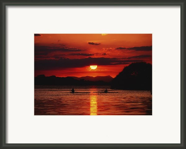 Lough Leane, Killarney, Co Kerry Framed Print By The Irish Image Collection