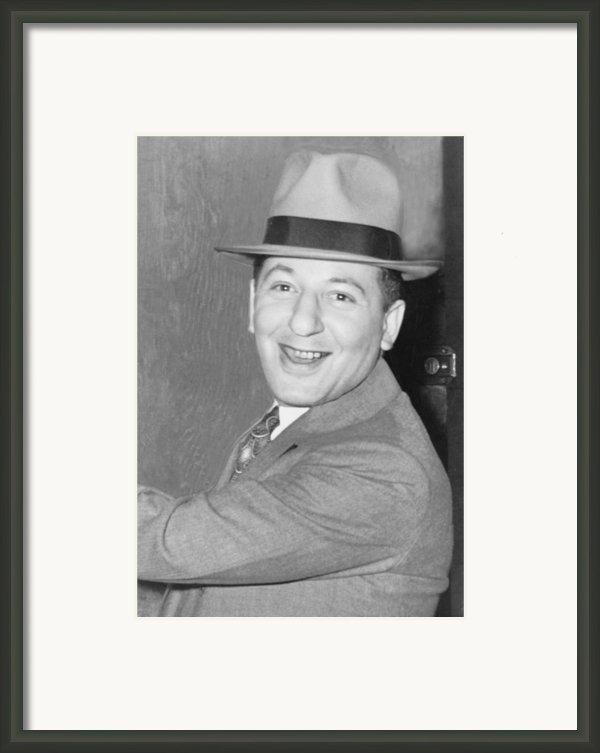 Louis Lepke Buchalter 1887-1944 Framed Print By Everett