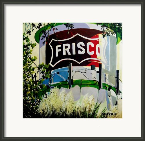 Love Frisco Framed Print By Diana Moya