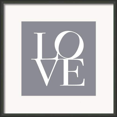 Love In Grey Framed Print By Michael Tompsett