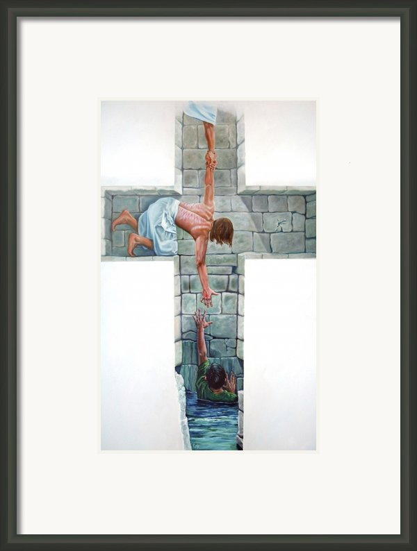 Love Framed Print By Larry Cole