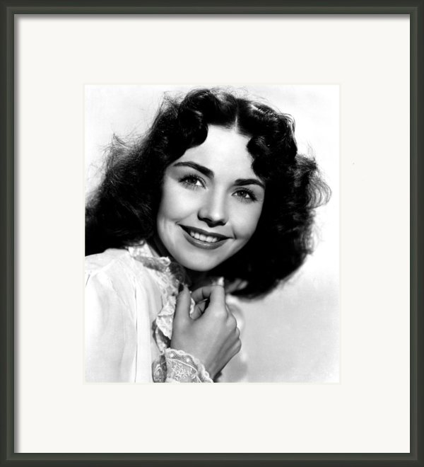 Love Letters, Jennifer Jones, 1945 Framed Print By Everett