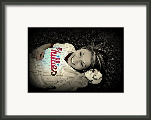 Love Of The Game Framed Print By Ashley Branstetter