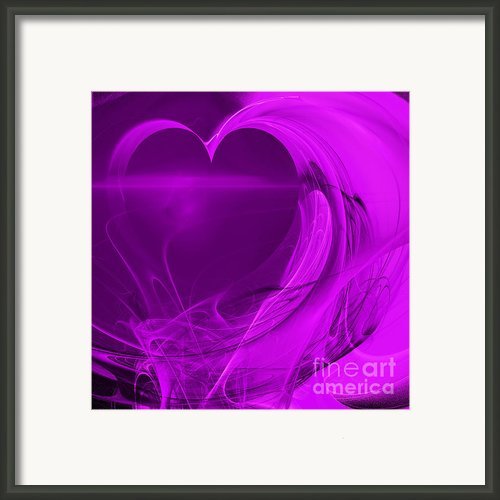 Love . Square . A120423.279 Framed Print By Wingsdomain Art And Photography