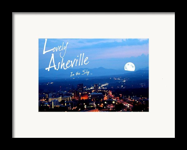 Lovely Asheville Framed Print By Ray Mapp
