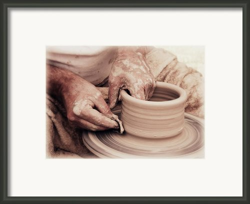 Loving Hands Creation Framed Print By Emanuel Tanjala