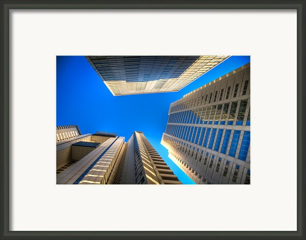 Low Angle View Of Building Framed Print By Jimel Valera Photography