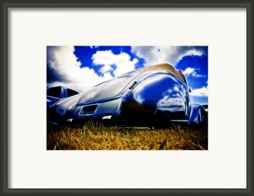 Low Ford Roadster Framed Print By Phil