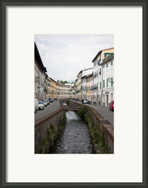 Lucca Framed Print By Steven Gray