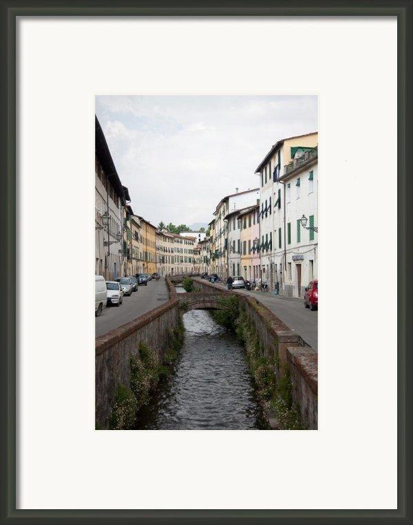 Lucca Framed Print By Steven Gray