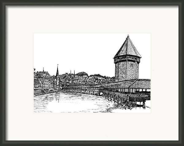 Lucerne Framed Print By Frank Santagata