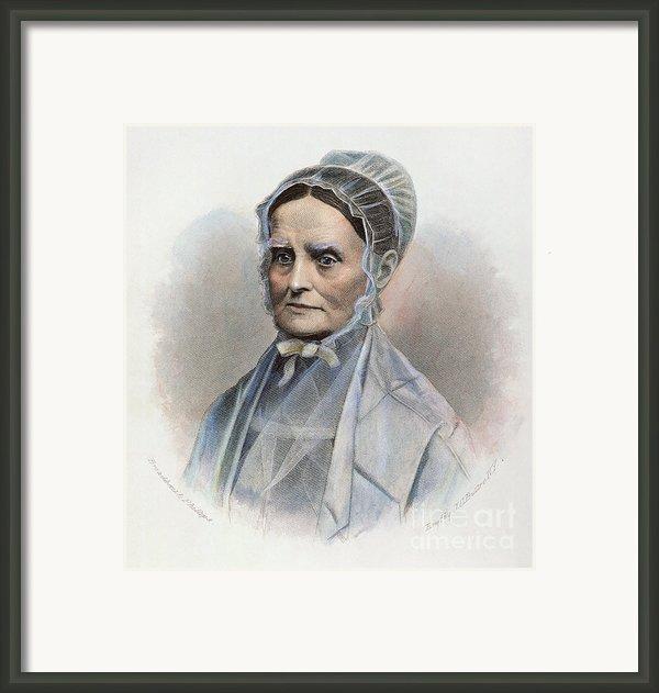 Lucretia Coffin Mott Framed Print By Granger