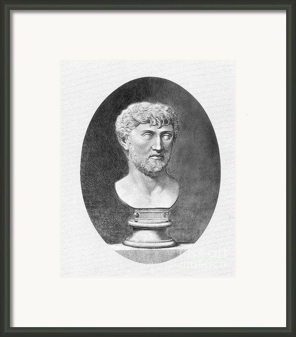 Lucretius (96 B.c.?-55 B.c.) Framed Print By Granger