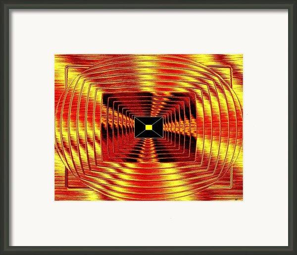 Luminous Energy 12 Framed Print By Will Borden