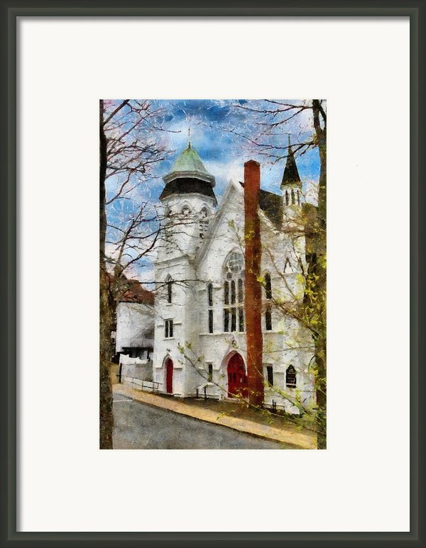 Lunenburg United Framed Print By Jeff Kolker