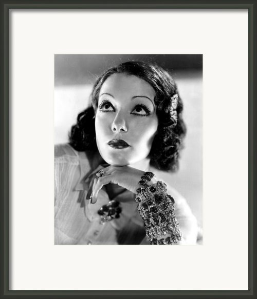 Lupe Velez, Mgm, 1933, Photo Framed Print By Everett