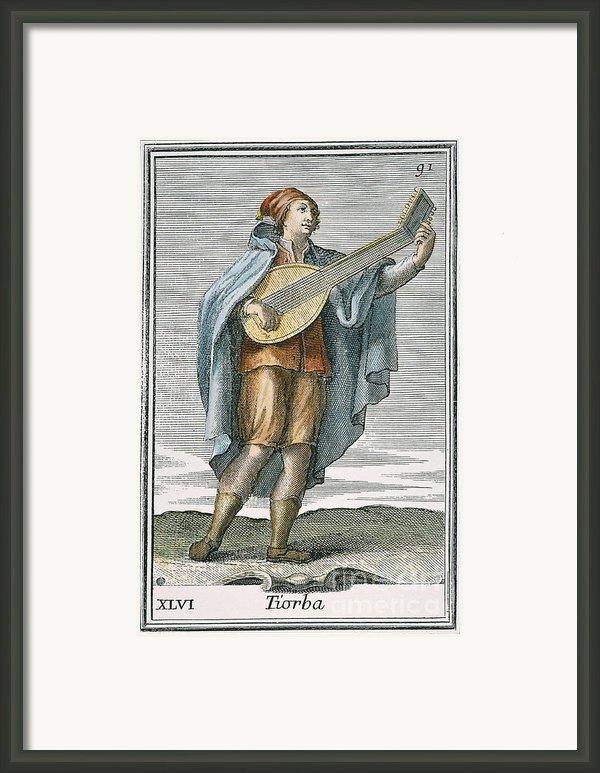 Lute, 1723 Framed Print By Granger