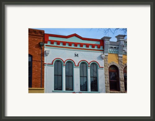 M Building Framed Print By Jan Amiss Photography