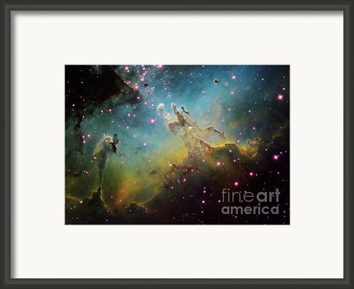 M16 The Eagle Nebula Framed Print By Ken Crawford