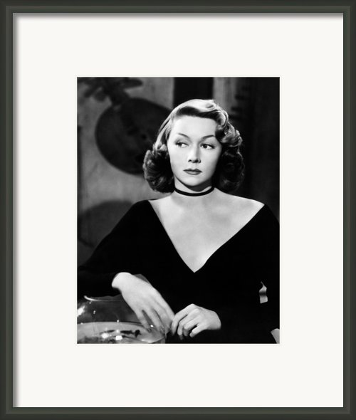 Macao, Gloria Grahame, 1952 Framed Print By Everett