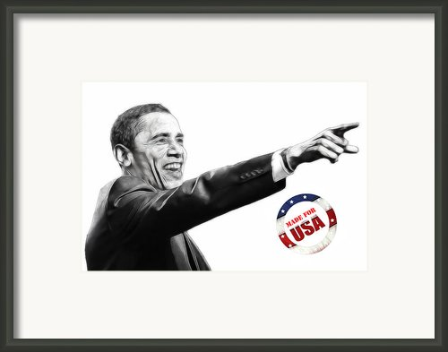 Made For Usa Framed Print By Stefan Kuhn