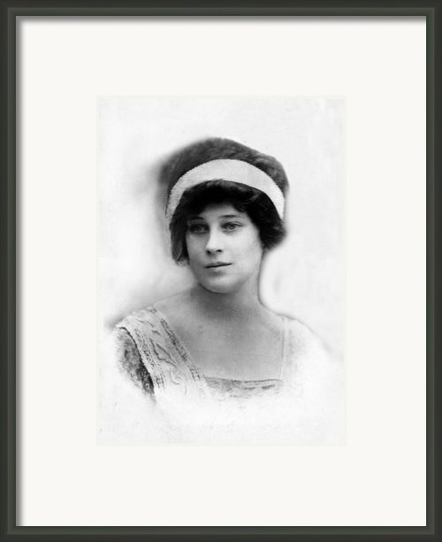 Madeleine Astor 1893-1940, Wife Of John Framed Print By Everett