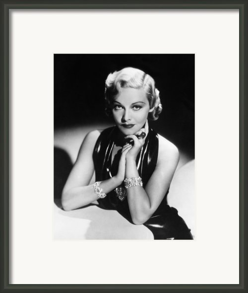 Madeleine Carroll, 1936 Framed Print By Everett