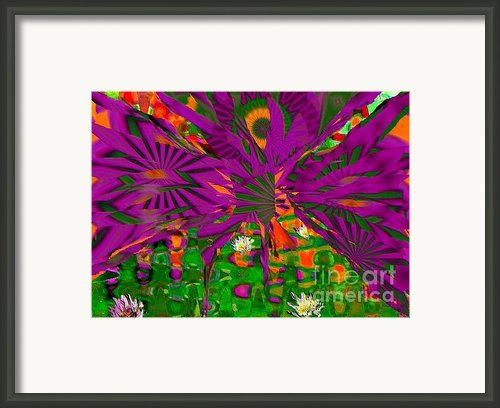 Magic Aigrette Framed Print By Navo Art