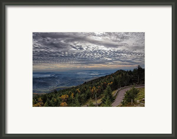 Magic Autumn Morning Framed Print By Daniel Lowe