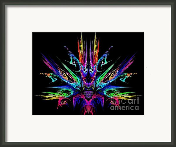 Magic Fire Framed Print By Klara Acel