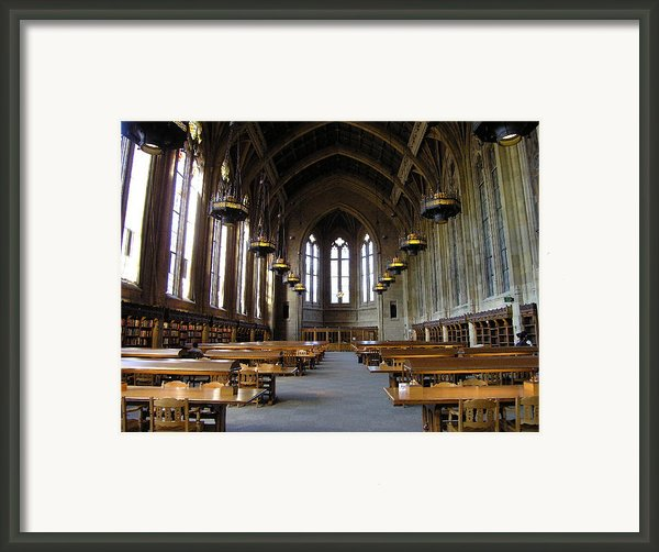 Magic Library Framed Print By Silvie Kendall