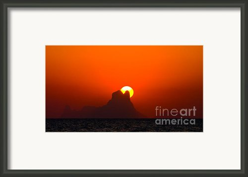 Magic Sunset Framed Print By Thomas Splietker