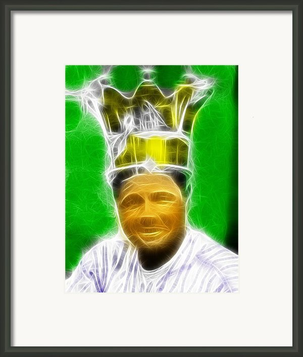 Magical Babe Ruth Framed Print By Paul Van Scott