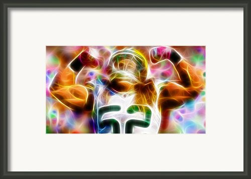 Magical Clay Matthews Framed Print By Paul Van Scott