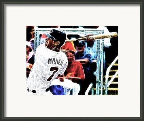 Magical Joe Mauer Framed Print By Paul Van Scott