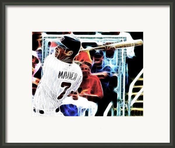 Magical Joe Mauer Framed Print By Paul Van Scott