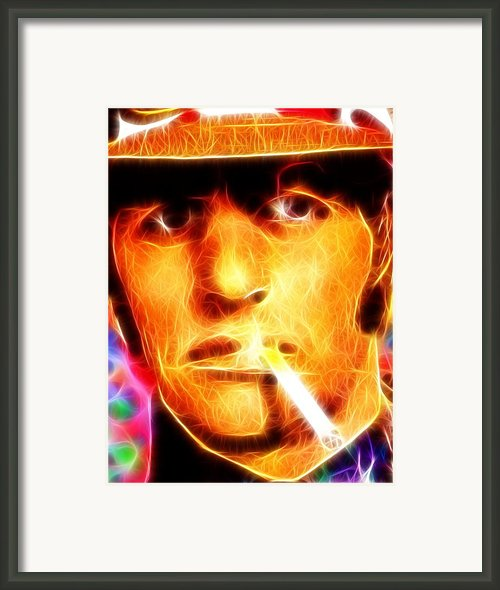 Magical Ringo Starr Framed Print By Paul Van Scott