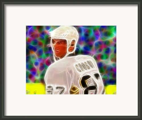 Magical Sidney Crosby Framed Print By Paul Van Scott