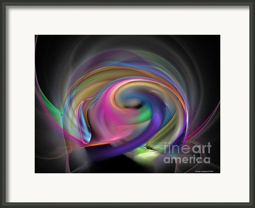Magnetic Series No.1 Framed Print By Michael C Geraghty