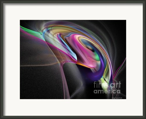Magnetic Series No.2 Framed Print By Michael C Geraghty