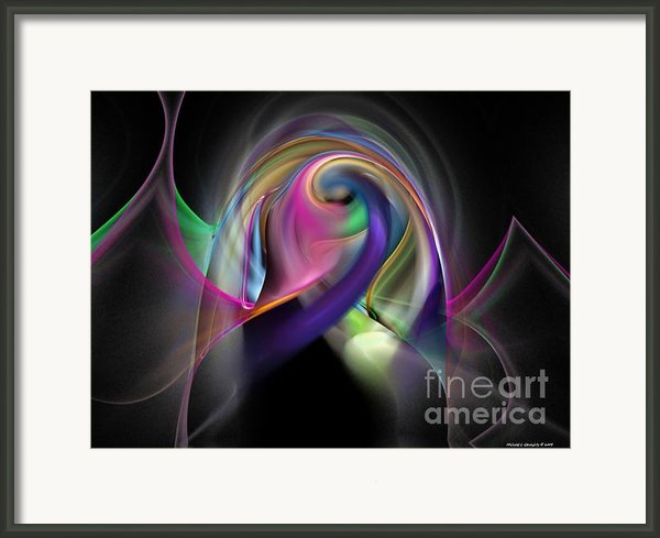 Magnetic Series No.9 Framed Print By Michael C Geraghty