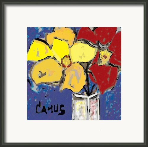 Magnolia Y Colores Framed Print By Carlos Camus