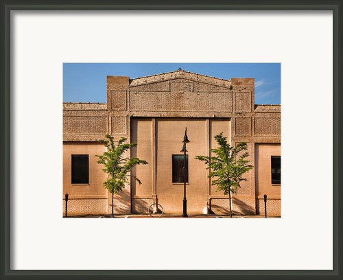 Main Street Building Framed Print By Steven Ainsworth