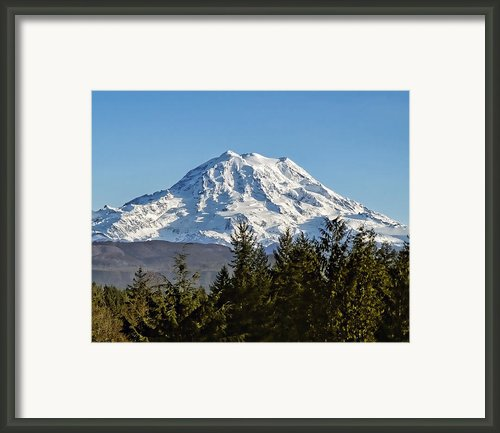 Majestic Framed Print By Kelley King