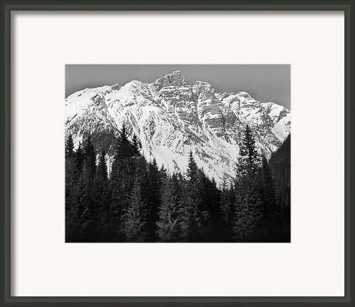 Majestic Mountains, British Columbia, Canada Framed Print By Brian Caissie