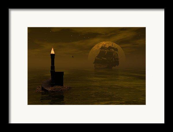 Make For The Light Framed Print By Claude Mccoy