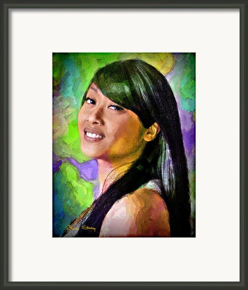 Mallory Framed Print By Chuck Staley