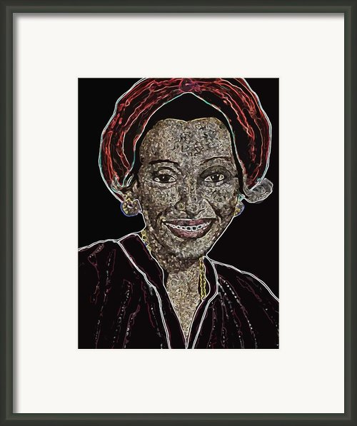 Mama Nura Framed Print By Duwayne Washington